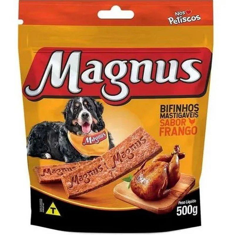 Bifinho Magnus Mastigáveis Sabor Frango 500g - Aproveite