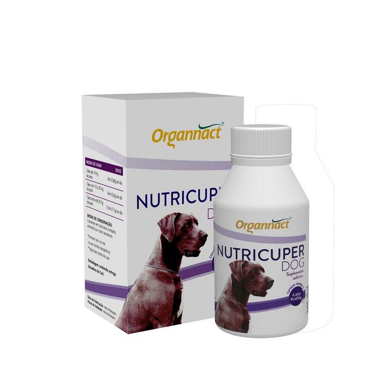 Cães Nutricuper 120ml - Organnact