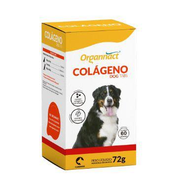 Colageno Dog Organnact Tabs 72g - 60 Tabs