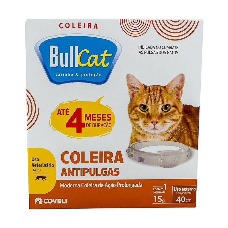 Coleira Antipulgas Bullcat Para Gato