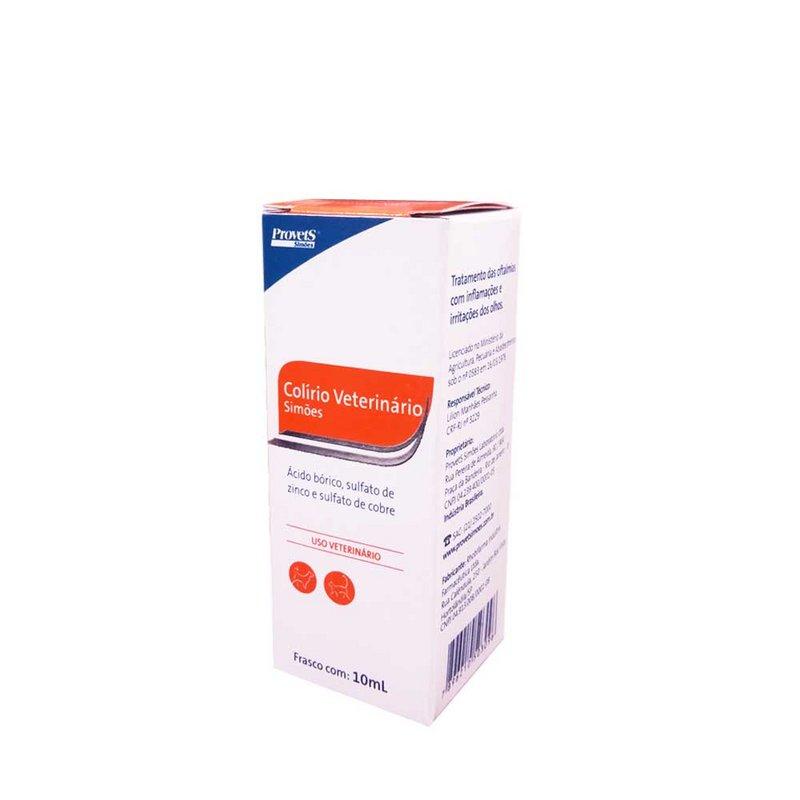 Colirio Veterinario Provet Simoes - 10ml
