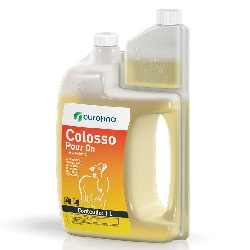 Colosso Pour On 1 Litro - Ouro Fino