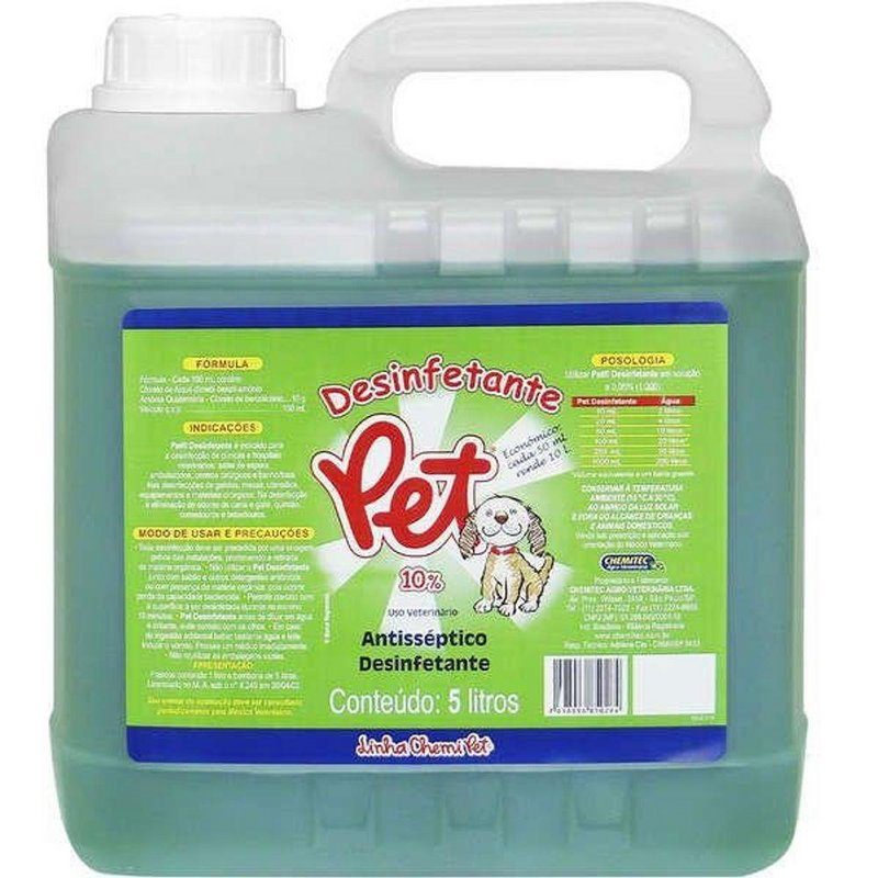 Desinfetante Pet - 5 Litros