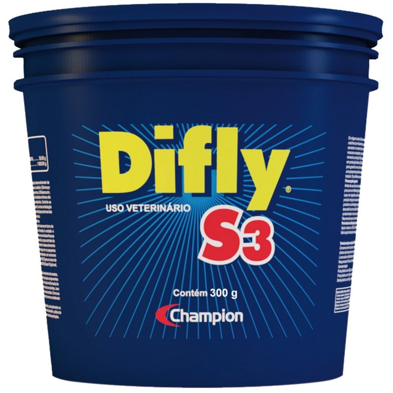 Difly S3 300gr Combate Carrapatos Mosca-dos-chifres Original