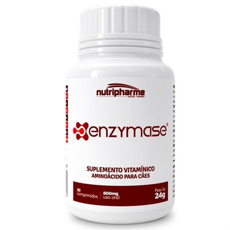 Enzymase - 30 Comprimidos - Suplemento Vitamínico Para Cães