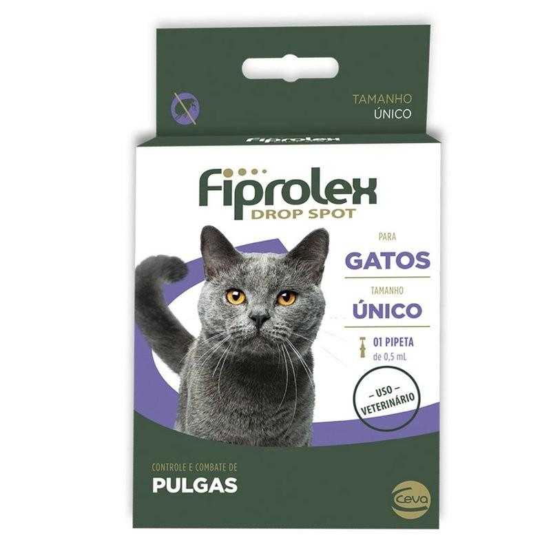 Fiprolex Drop Spot Para Gatos - Ceva