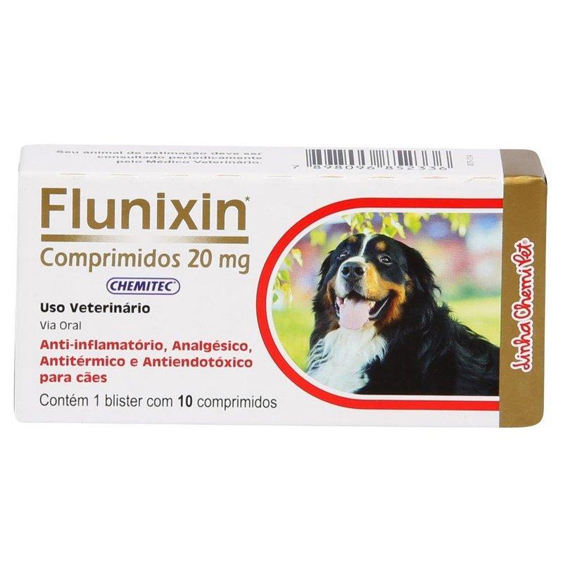 Flunixin 20mg C/10 Comprimidos