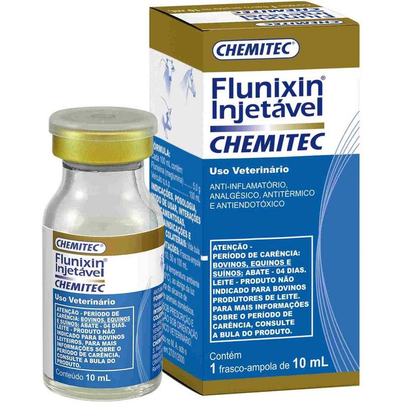 Flunixin Injetável Chemitec 10ml