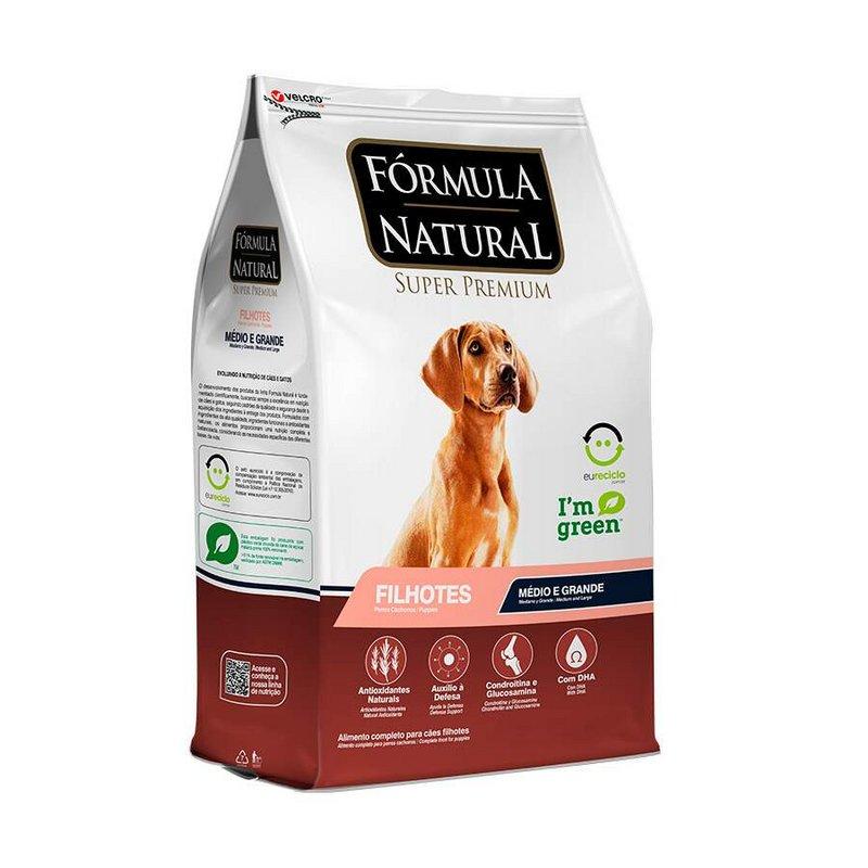 Fórmula Natural Para Cães Adultos Raças Méd E Grande - 2,5kg