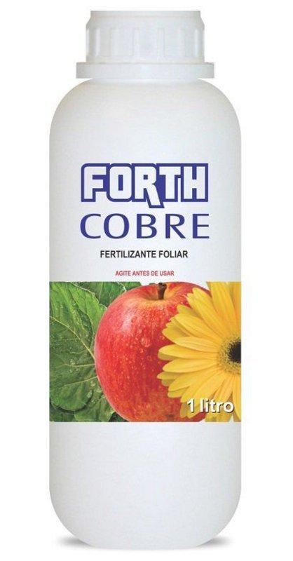 Forth Cobre 1 Litro Fertilizante Defensivo Combate Doença