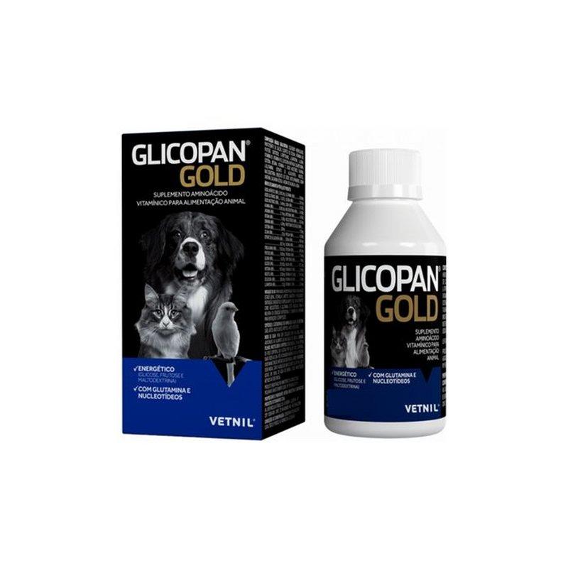 Glicopan Gold 250ml Vetnil - Suplemento Vitaminico