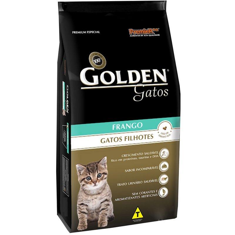 Golden Gatos Filhotes Frango - 10,1kg
