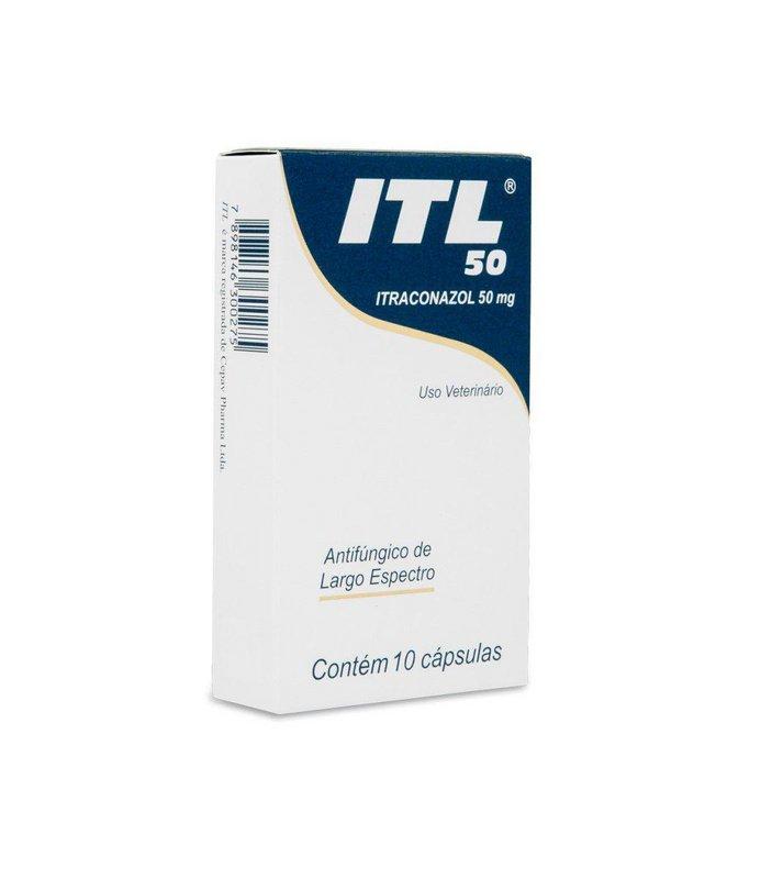 Itl 50 Itraconazol 50mg - 10 Caps Cepav