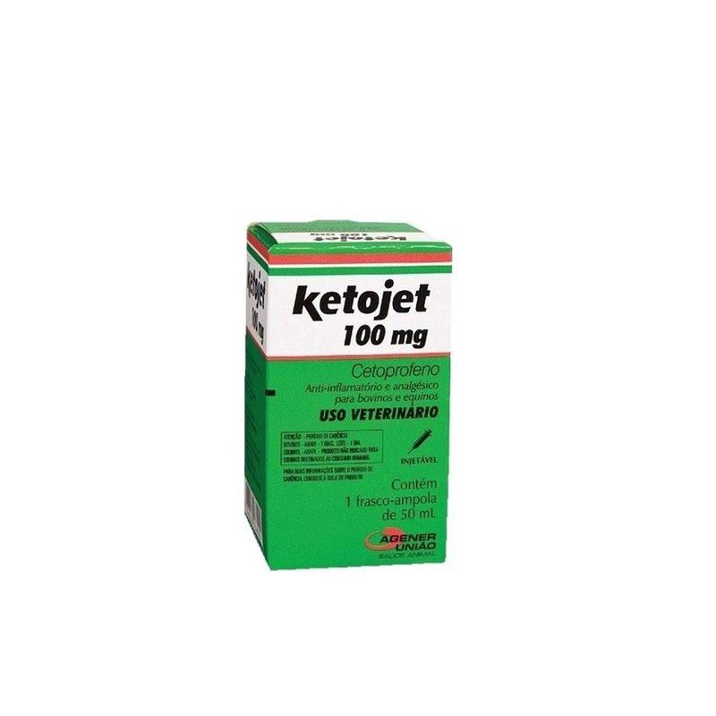 Ketojet Injetável 100 Mg - 50 Ml | Cetoprofeno