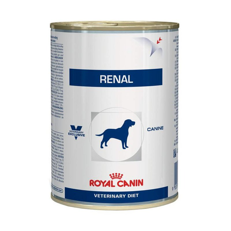 Kit 3 - Alimento Úmido Royal Canin Cães Renal 410g