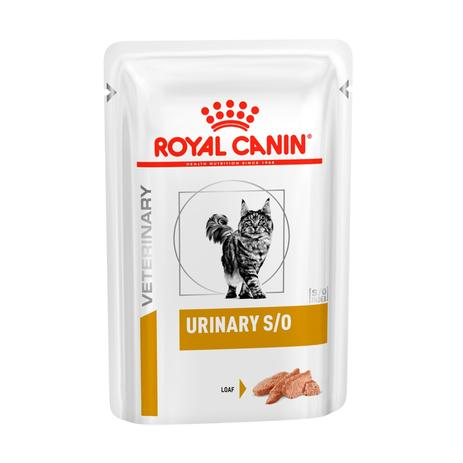 Kit 3 - Royal Canin Feline Urinary S/o Sachê - 85g