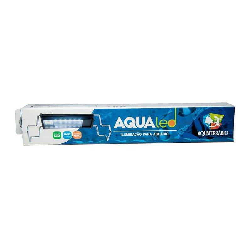 Luminária Aquário Aqualed Branca/azul 30/35cm 680lm Bivolt