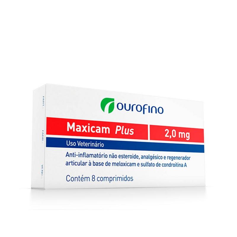 Maxicam Plus 2 Mg C/ 8 Comprimidos