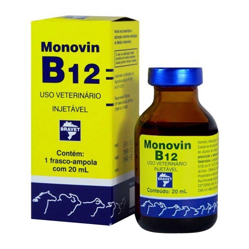 Monovin B12 Injetável - 20ml
