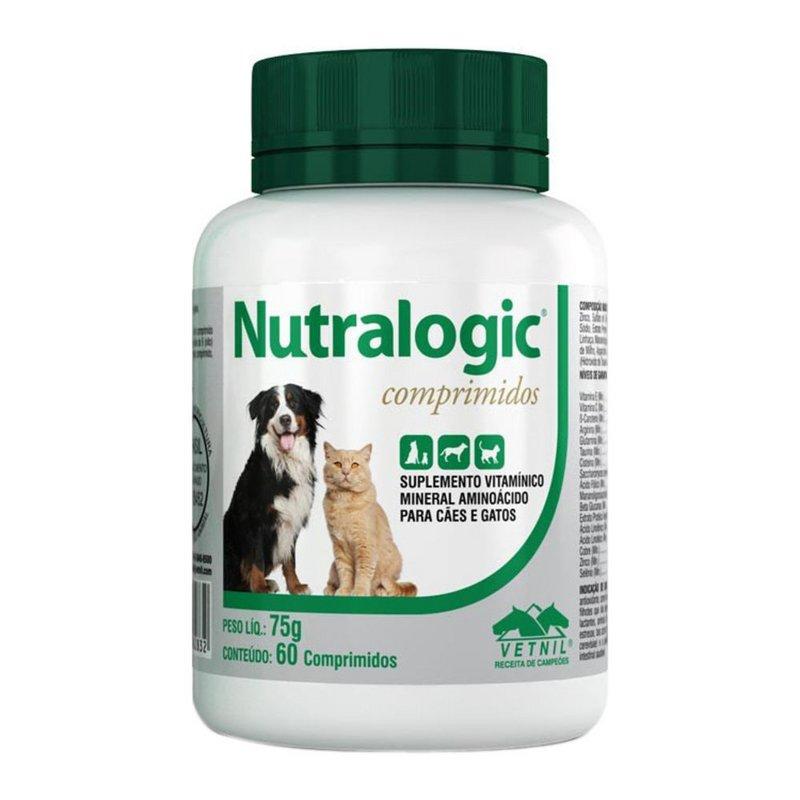 Nutralogic C/ 60 Comp. - Vetnil ( Suplemento Vitamínico )