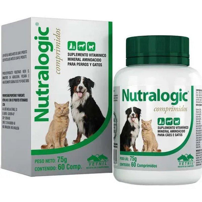 Nutralogic C/ 60 Comp. - Vetnil - Suplemento Vitamínico