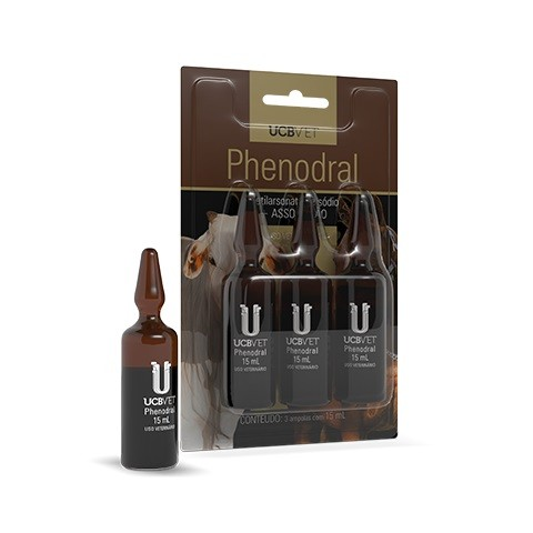 Phenodral - 15ml - Tônico Arseniacal Injetável