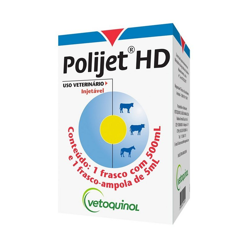 Polijet Hd Injetável P/ Animais 500ml Vetoquinol
