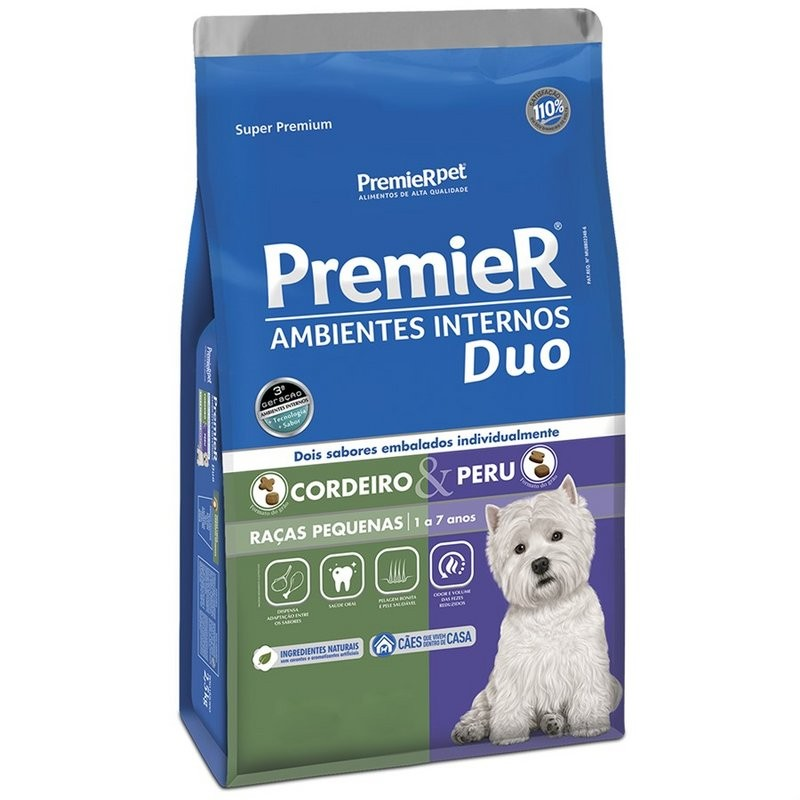 Premier Ambientes Internos Duo Cordeiro/peru - 12kg