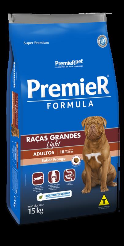 Premier Formula Raças Grandes Adultos Light - 15kg