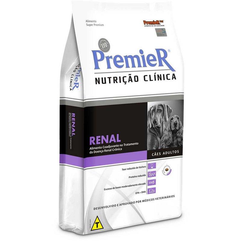 Premier Nutrição Clinica Cães Renal - 2kg