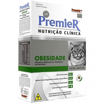 Premier Nutrição Clínica Gatos Obesidade - 500g