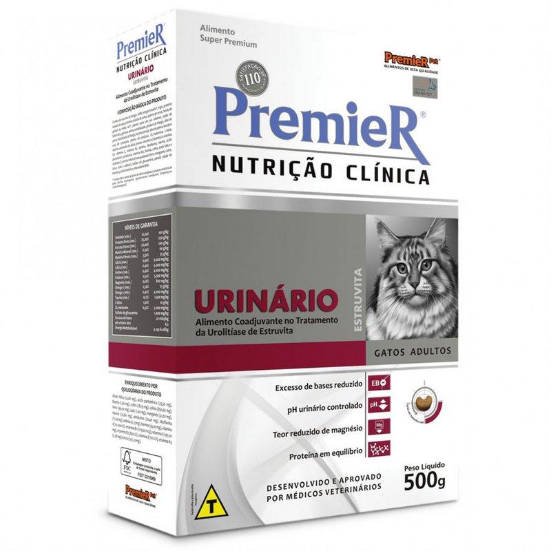 Premier Nutrição Clínica Gatos Urinário - 500g