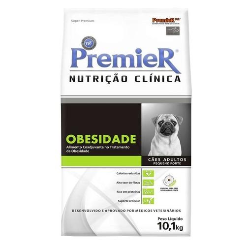 Premier Nutrição Clínica Obesidade Cães Pequenas - 10kg