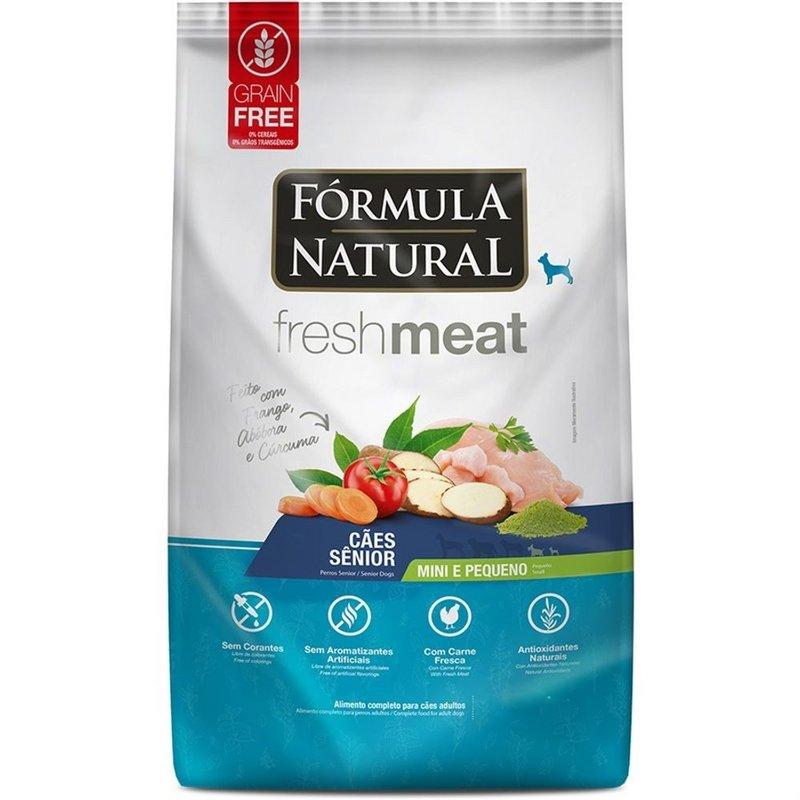 Ração Fórmula Natural Fresh Meat Cão Senior Mini E Peq 2,5kg