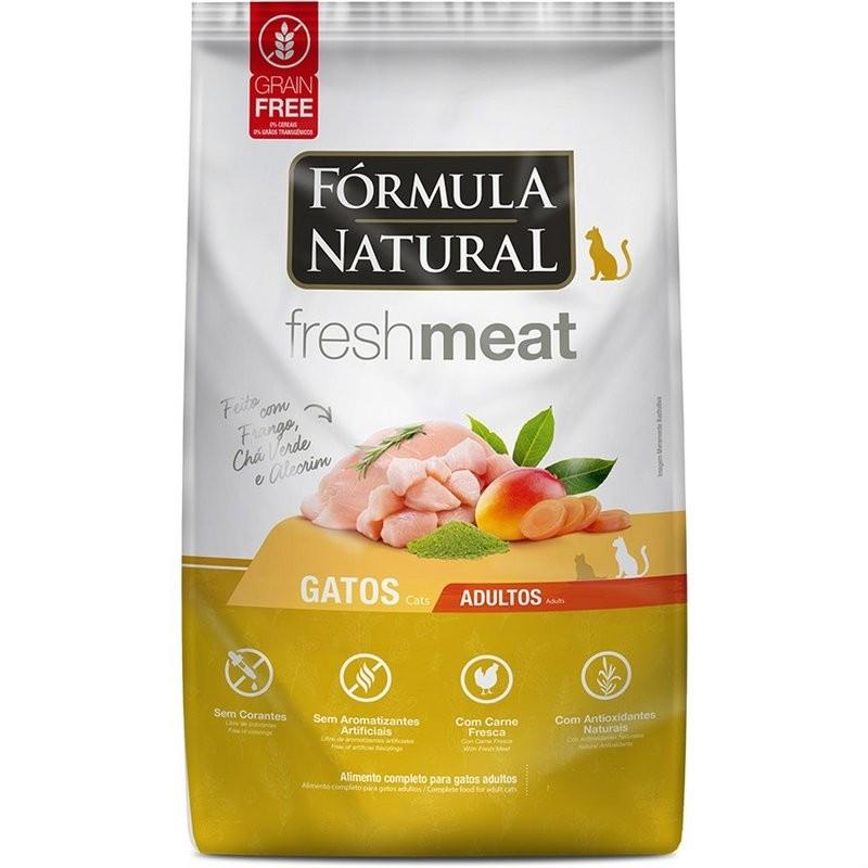 Ração Fórmula Natural Freshmeat Gatos Adultos Frango 1kg
