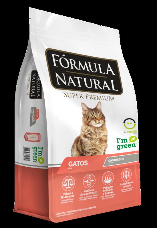 Ração Fórmula Natural Super Premium Gatos Castrados 7kg