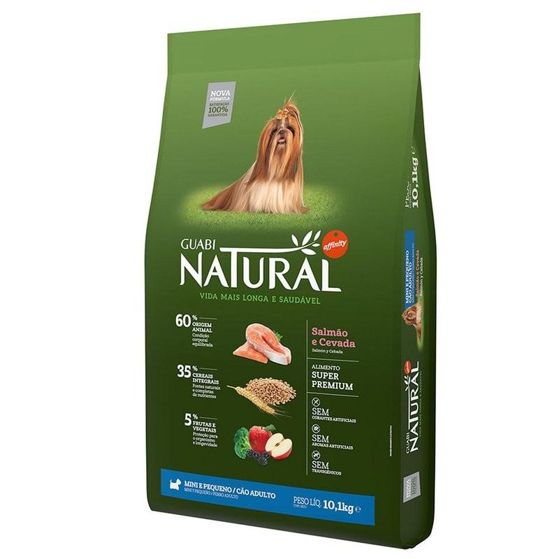 Ração Guabi Natural Adulto Mini Salmão E Cevada 2,5kg