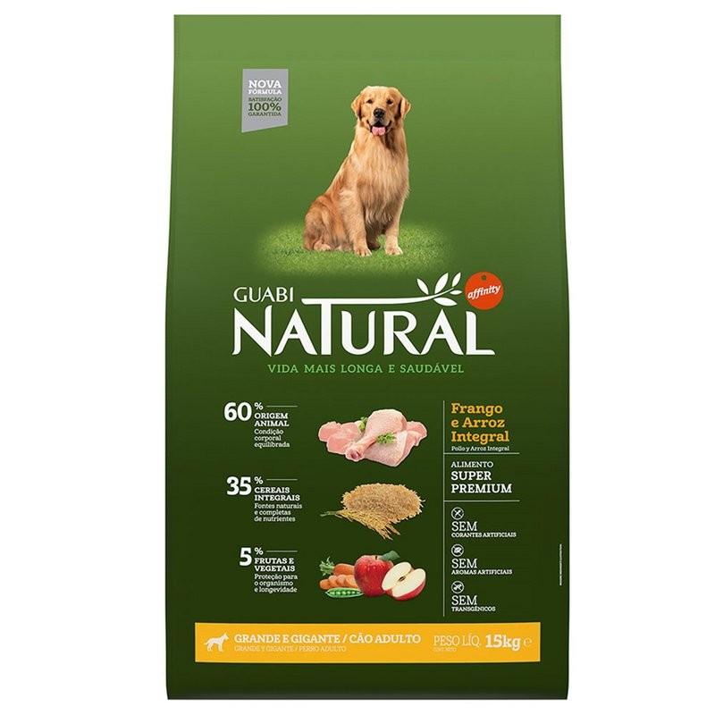 Ração Guabi Natural Cães Adulto Grande E Gigante - 15 Kg
