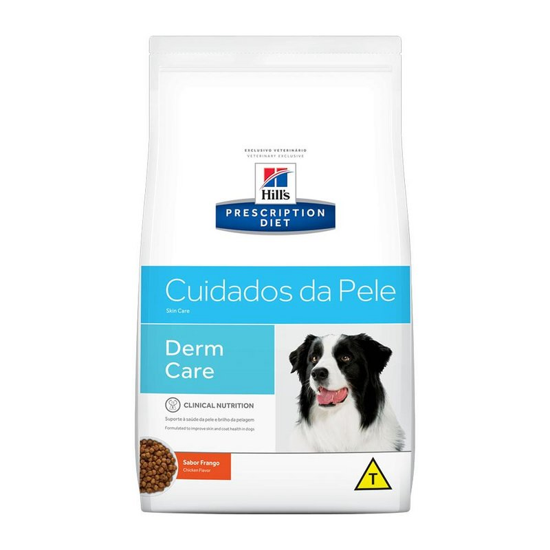 Ração Hill's Prescription Diet Raças Médias Derma Care - 2kg