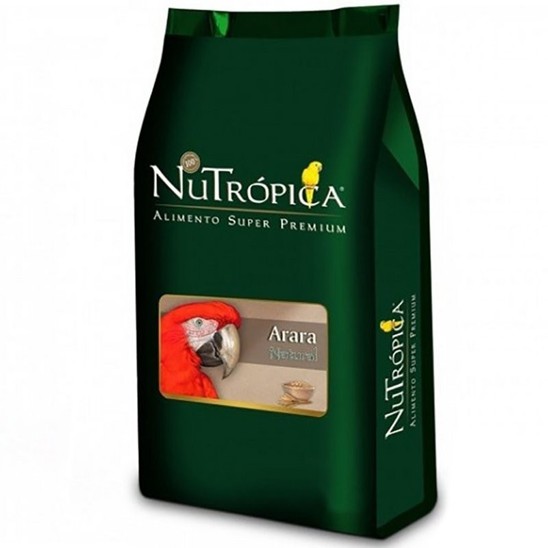 Ração Nutrópica Natural Para Arara 5kg
