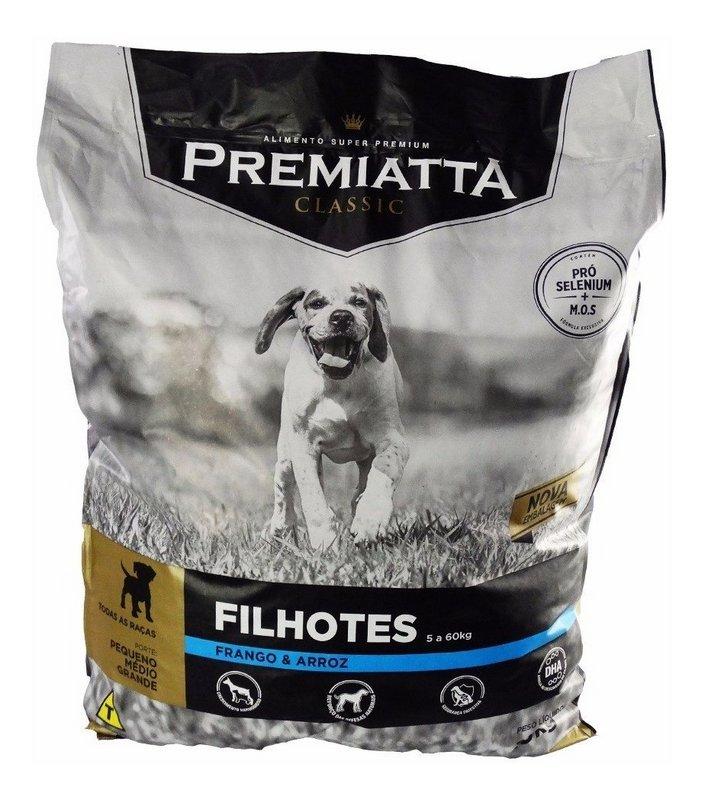 Ração Premiatta Classic Filhotes Cães Todas As Raças - 15kg