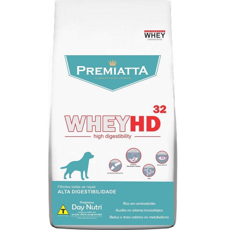 Ração Premiatta Whey Hd 32 Filhotes - 6kg