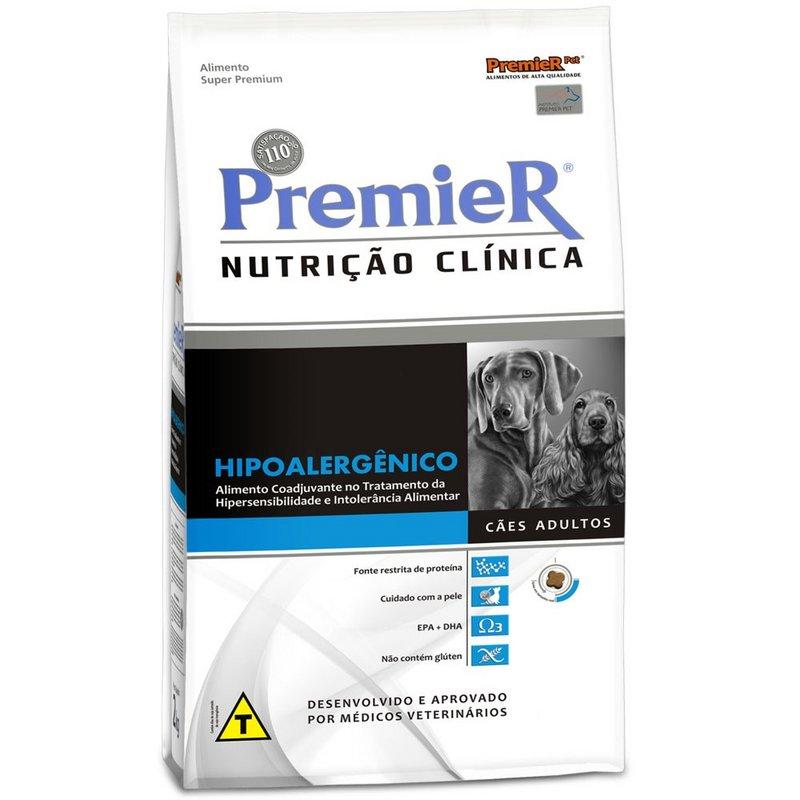 Ração Premier Nutrição Clinica Cães Hipoalergênico 10kg