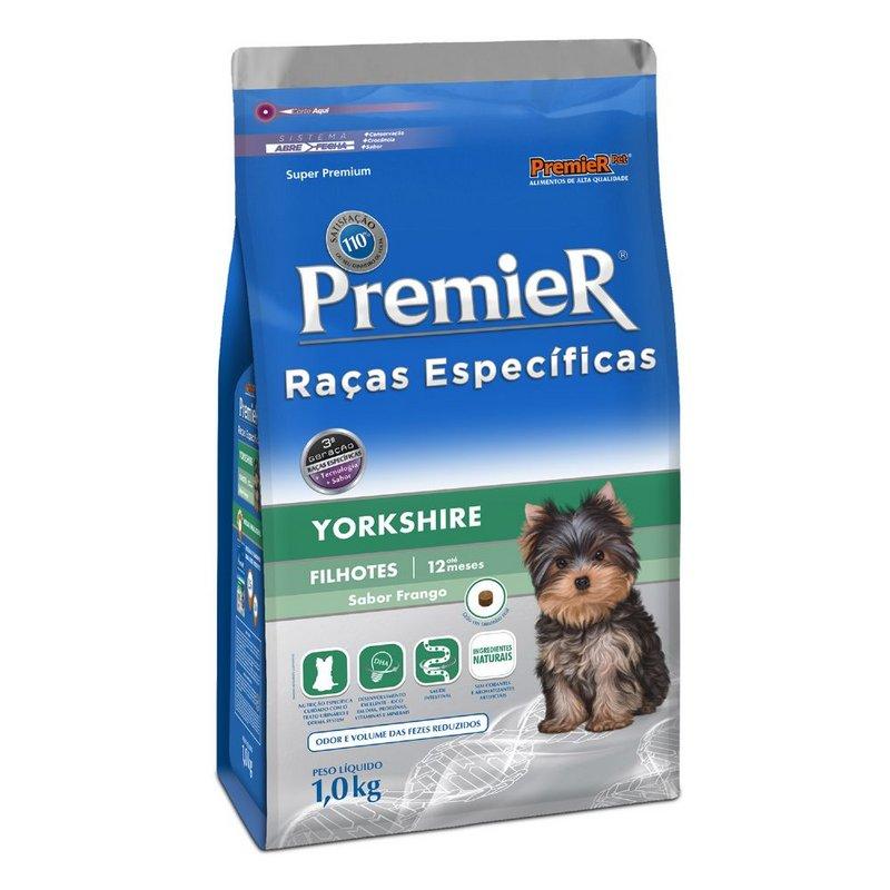 Ração Premier Raças Especificas Yorkshire Filhote 1kg