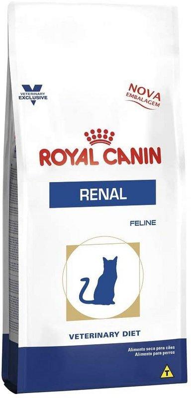 Ração Royal Canin Veterinary Renal Gatos Adultos - 500g