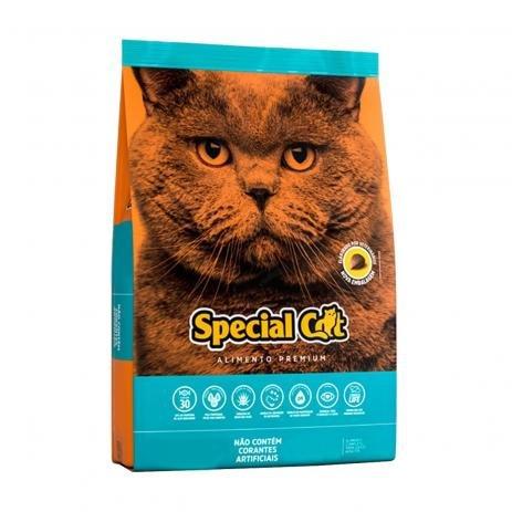 Ração Special Cat Gatos Adultos Sabor Peixe 10.1kg