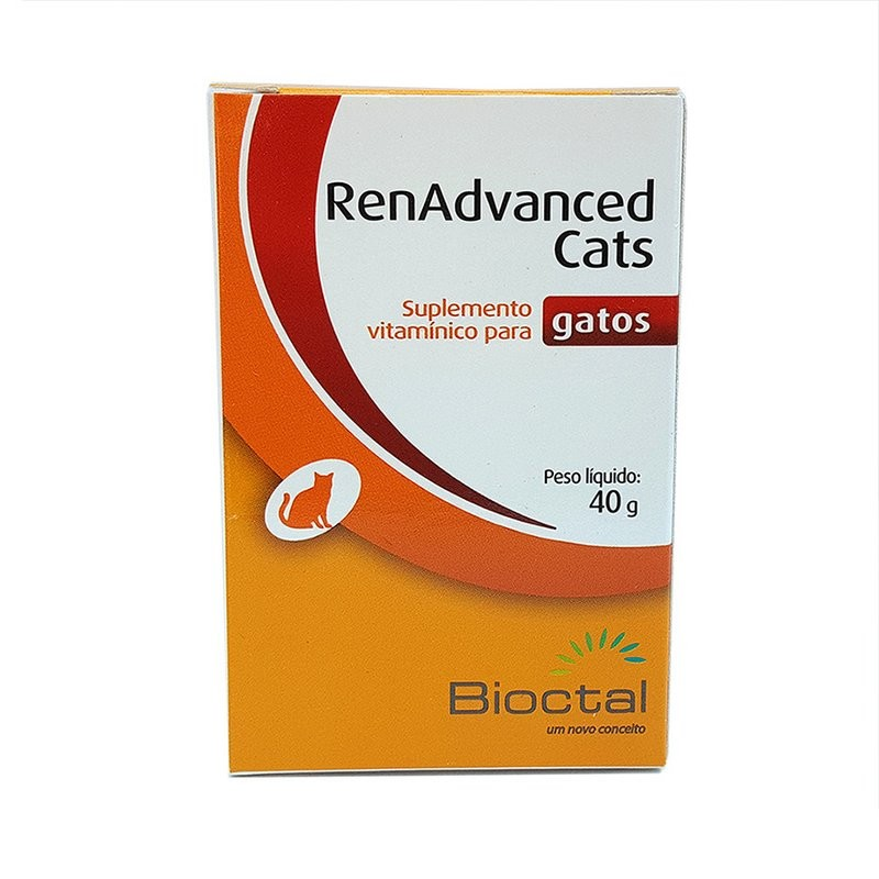 Renadvanced Cats 40g Bioctal - Suplemento Vitamínico P/gatos