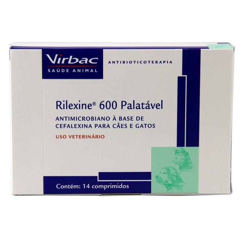 Rilexine 600mg - 14 Comprimidos