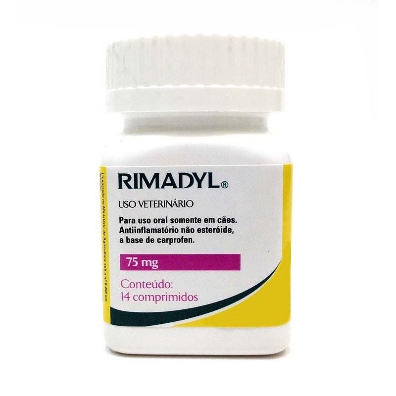 Rimadyl 75 Mg Com 14 Comprimidos Zoetis