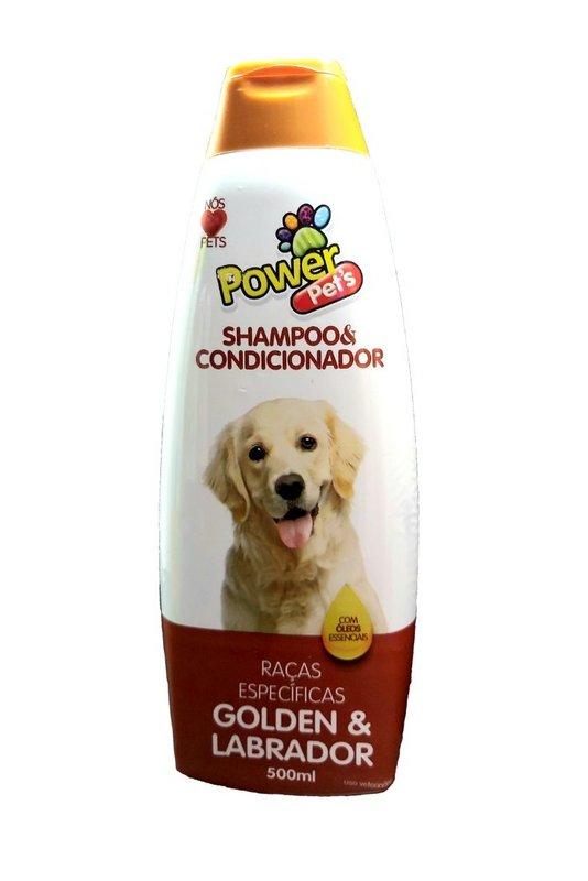 Shampoo 2x1 P Cães Raças Específicas Golden & Labrador 700ml